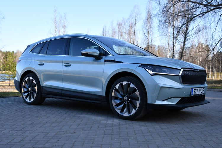 A drive with the new Škoda ENYAQ